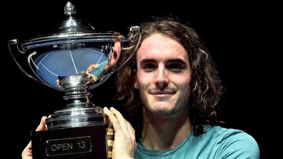 Tsitsipas título ATP Marsella 2018