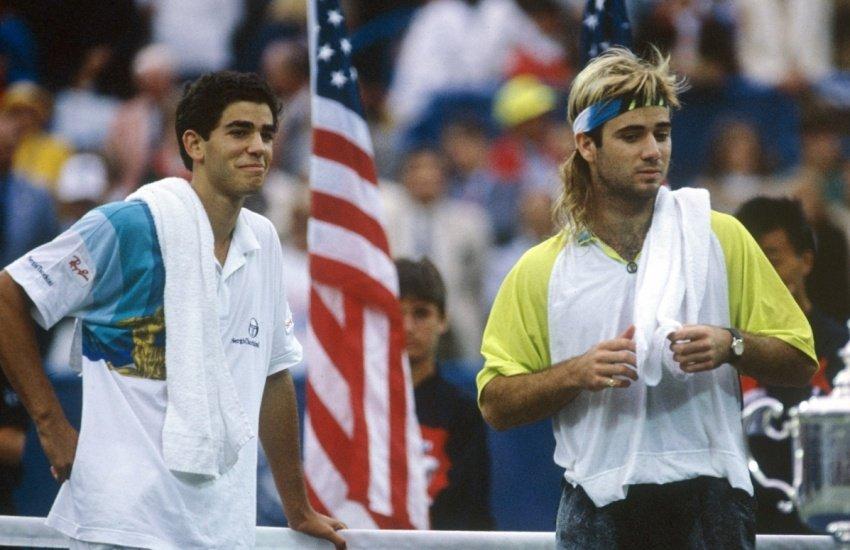 Rivalidad Pete Sampras y Andre Agassi