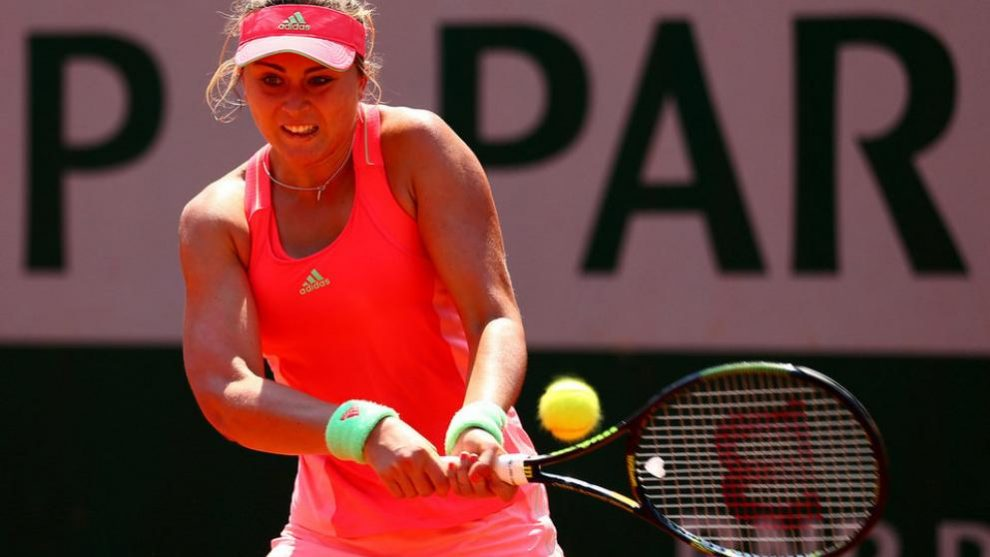 Paula Badosa en Roland Garros