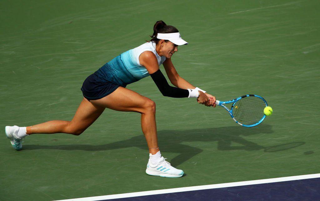Garbiñe Muguruza WTA Indian Wells