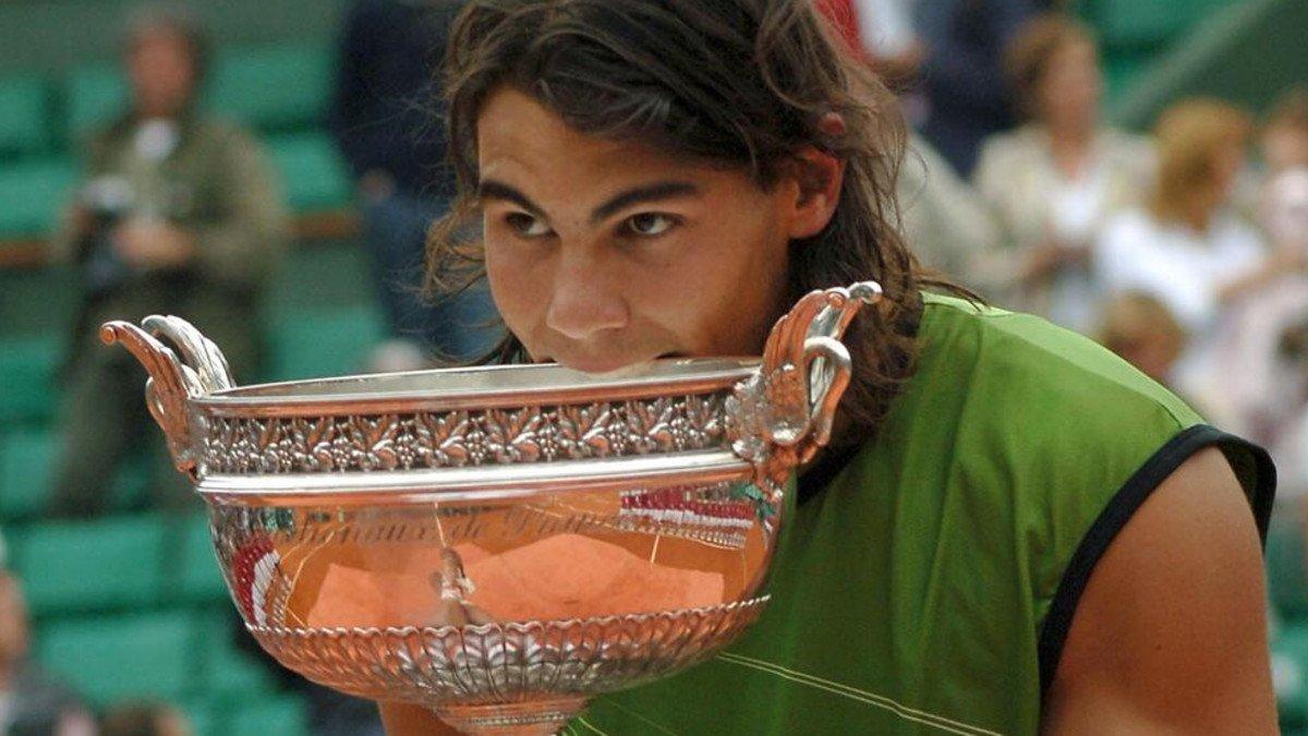Nadal muerde su primer título de Roland Garros
