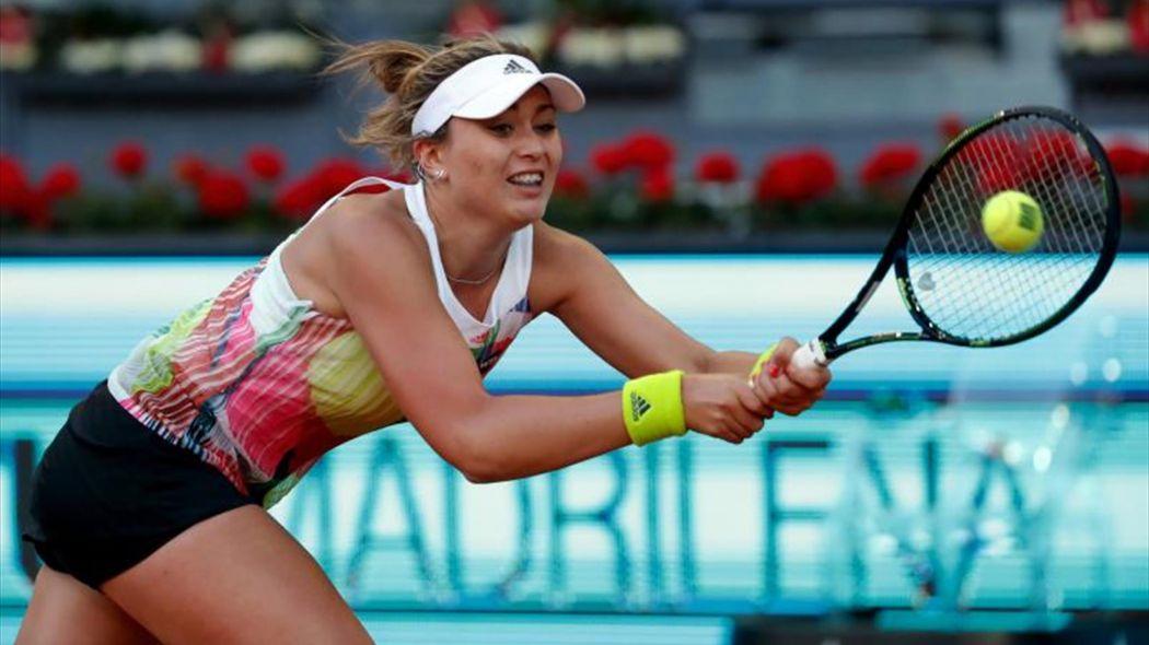 Paula Badosa en el Mutua Madrid Open