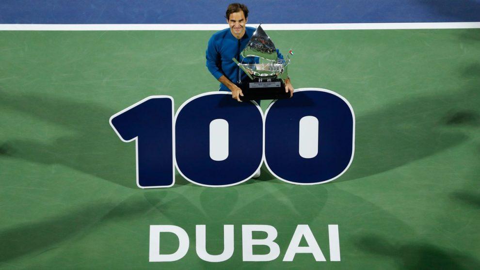 estadísticas Federer 100 títulos