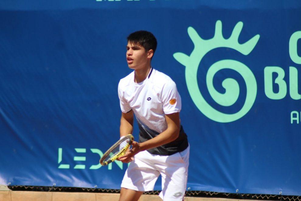 Carlos Alcaraz torneo Junior JC Ferrero