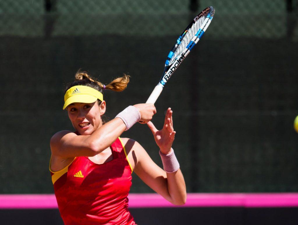 Garbiñe Muguruza España Fed Cup