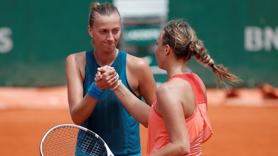 Kvitova y Kontaveit Roland Garros