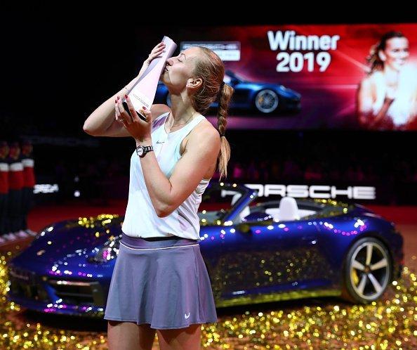 Kvitova WTA Sttutgart