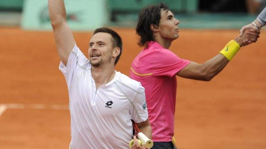 Soderling y Nadal Roland Garros