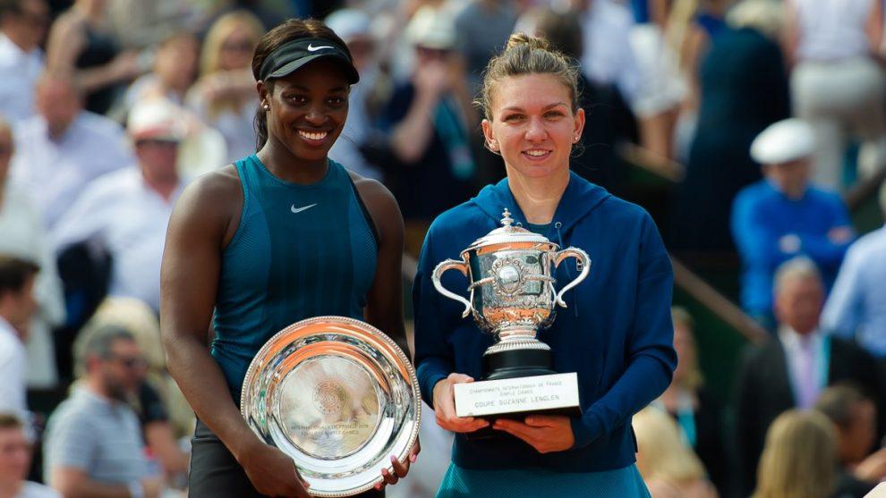 Halep y Stephens Roland Garros 2018