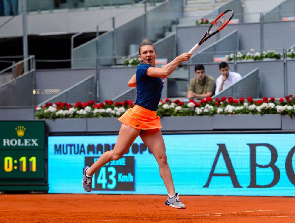 Simona Halep WTA Mutua Madrid Open