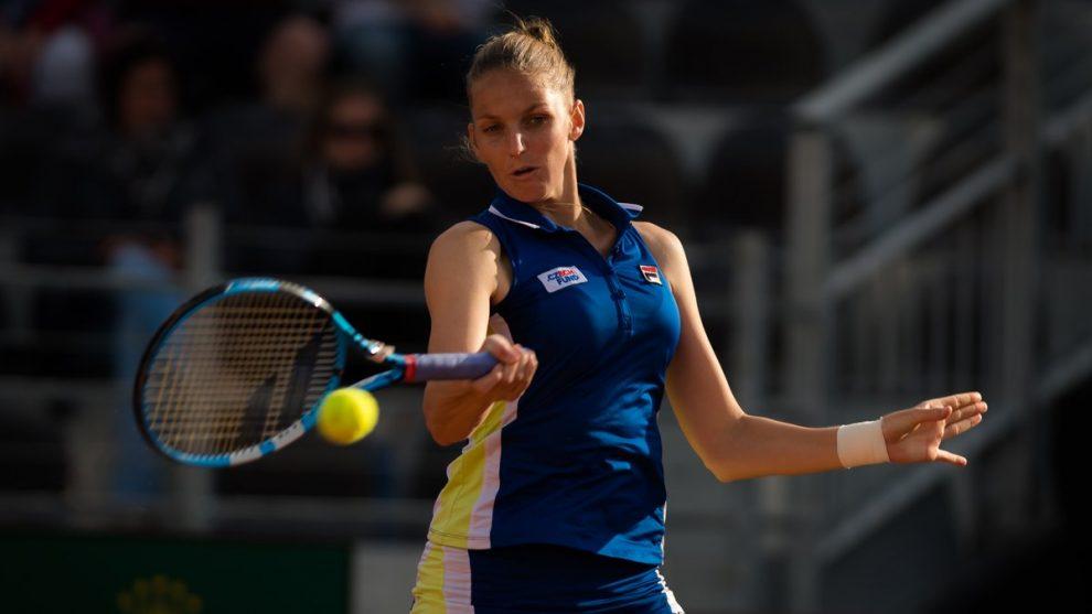 Karolina Pliskova WTA Roma