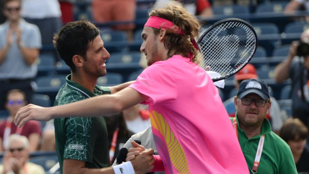 Tsitsipas y Djokovic Masters 1000 Toronto