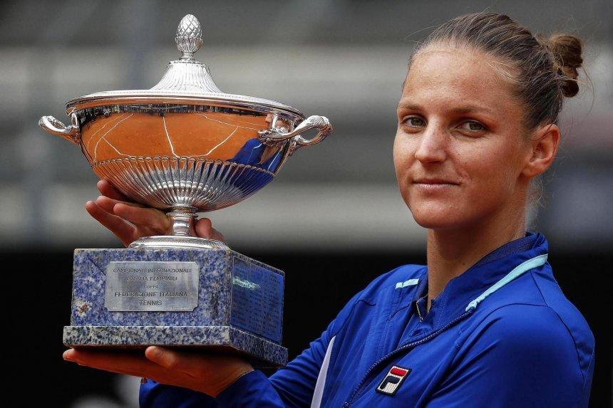Karolina Pliskova título WTA Roma