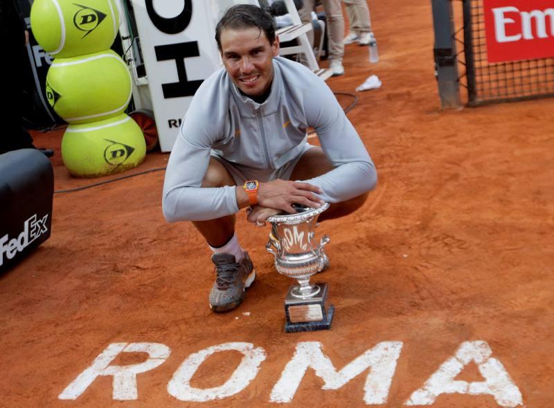 Jugadores más títulos Masters 1000 Roma