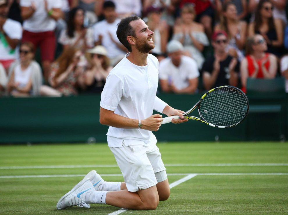 Mannarino celebra el título en el ATP Hertogenbosch