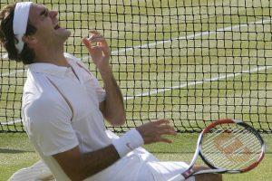 Roger Federer jugador con más racha de títulos sobre hierba