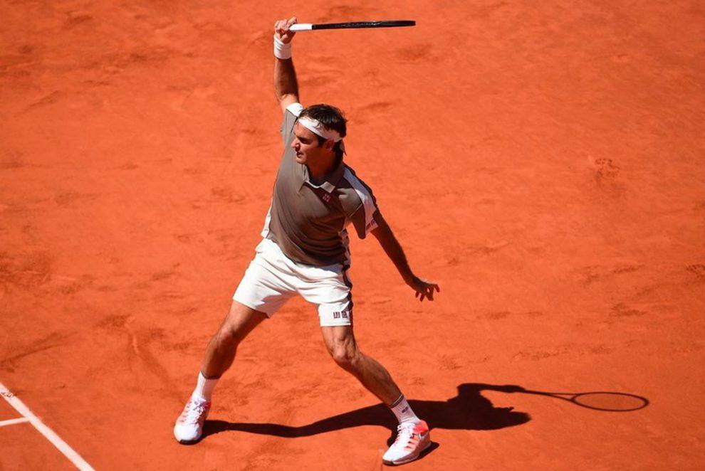 Roger Federer jugador con más cuartos de final jugados Grand Slam