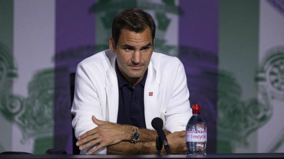 Roger Federer rueda de prensa Wimbledon 2019