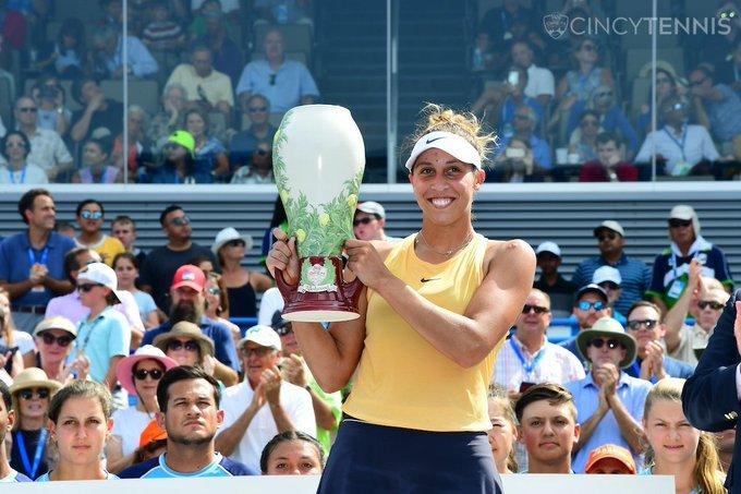 Madison Keys campeona WTA Cincinnati