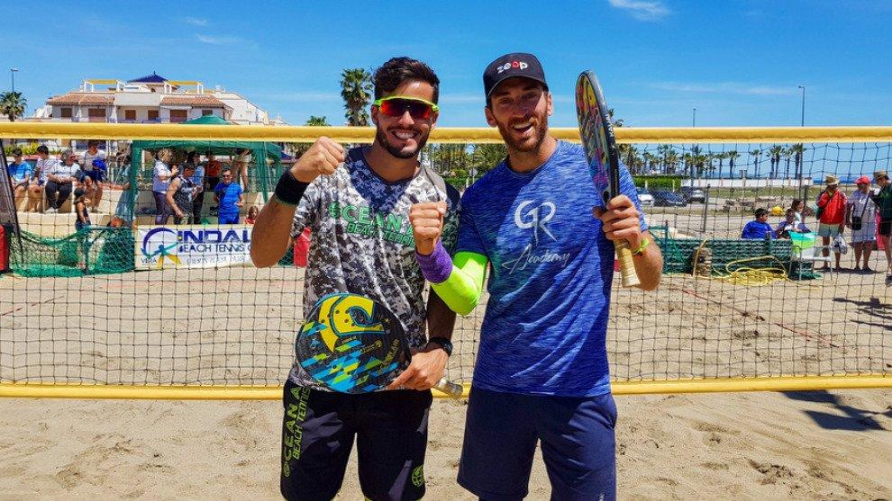 Gerard Rodríguez y Antomi Ramos campeones de España