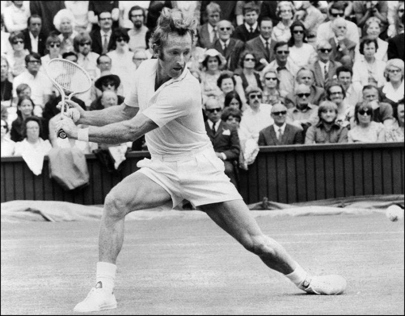 Rod Laver leyenda del tenis australiano
