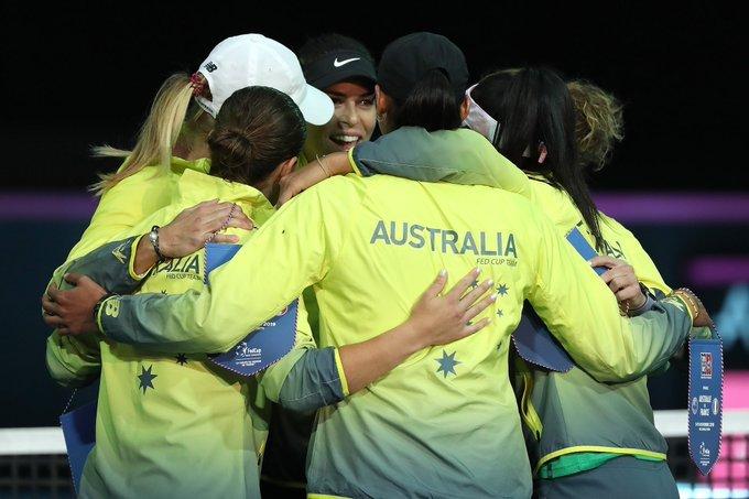 Resultados final Fed Cup 2019
