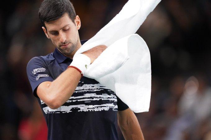 Djokovic Tsitsipas Masters 1000 París 2019