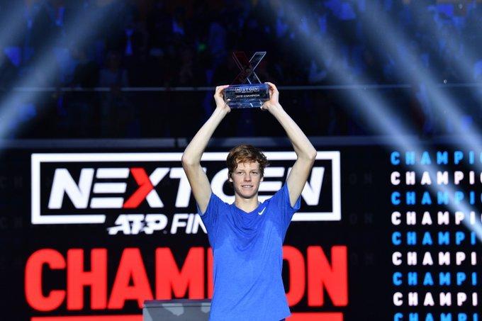 Sinner final Next Gen ATP Finals 2019