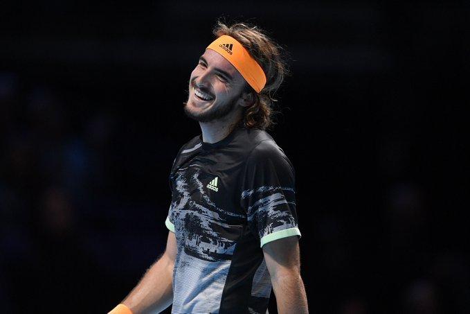 Federer Tsitsipas Nitto ATP Finals 2019
