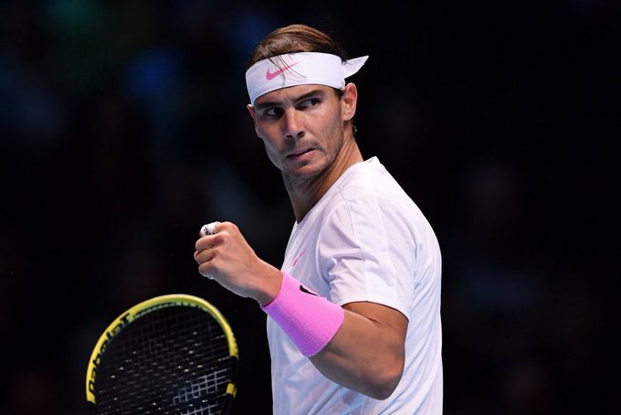 Nadal Medvedev Nitto ATP Finals 2019