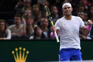 Nadal Tsonga Masters 1000 París 2019
