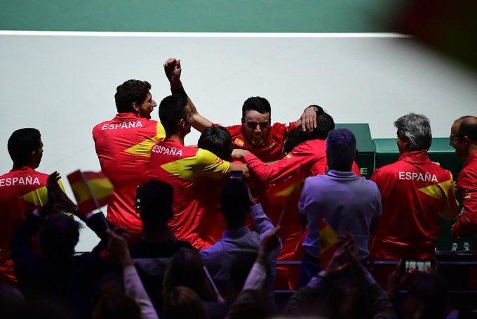 España Canadá final Copa Davis 2019