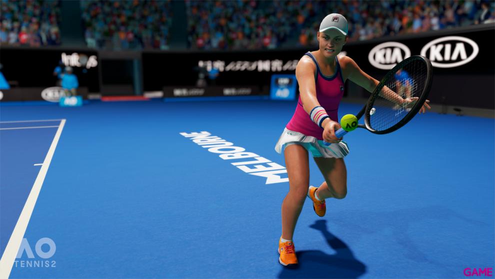 AO Tennis 2 videojuego tenis