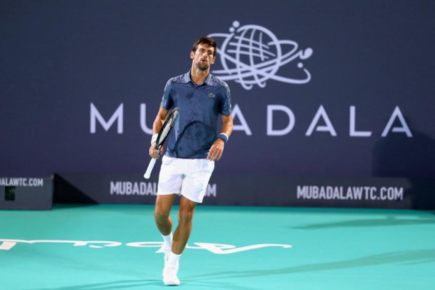 Djokovic Khachanov Mubadala 2019