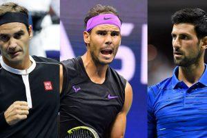Big Three ranking ATP