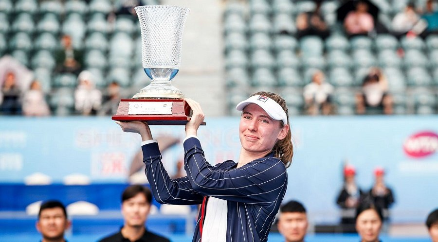 Ekaterina Alexandrova WTA Shenzhen 2020