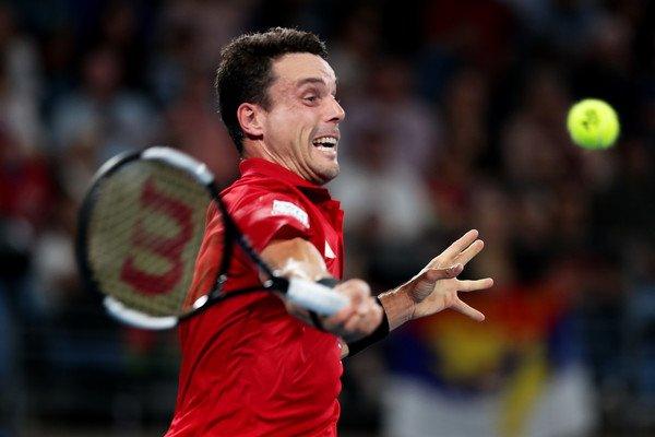 Bautista Feliciano Lopez Australian Open 2020