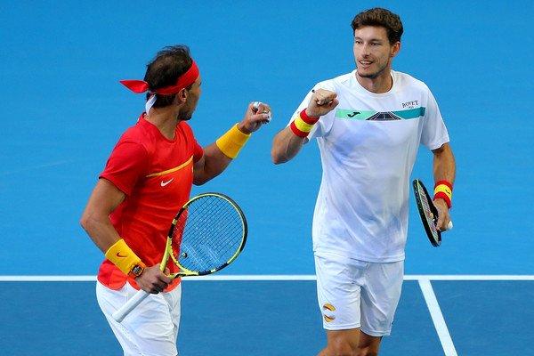 Nadal Carreño España ATP Cup 2020