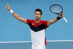 Djokovic Nadal ATP Cup 2020 Sidney