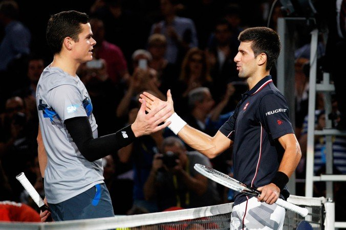 Djokovic Raonic Australian Open 2020