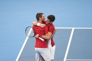 Djokovic Troicki ATP Cup 2020 Serbia
