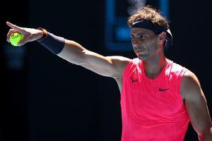 Nadal Dellien Australian Open 2020