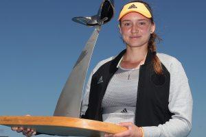 Elena Rybakina WTA Hobart 2020