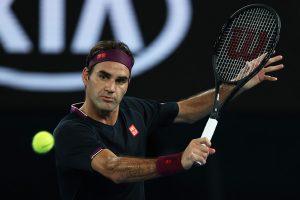 Federer Millman Australian Open 2020