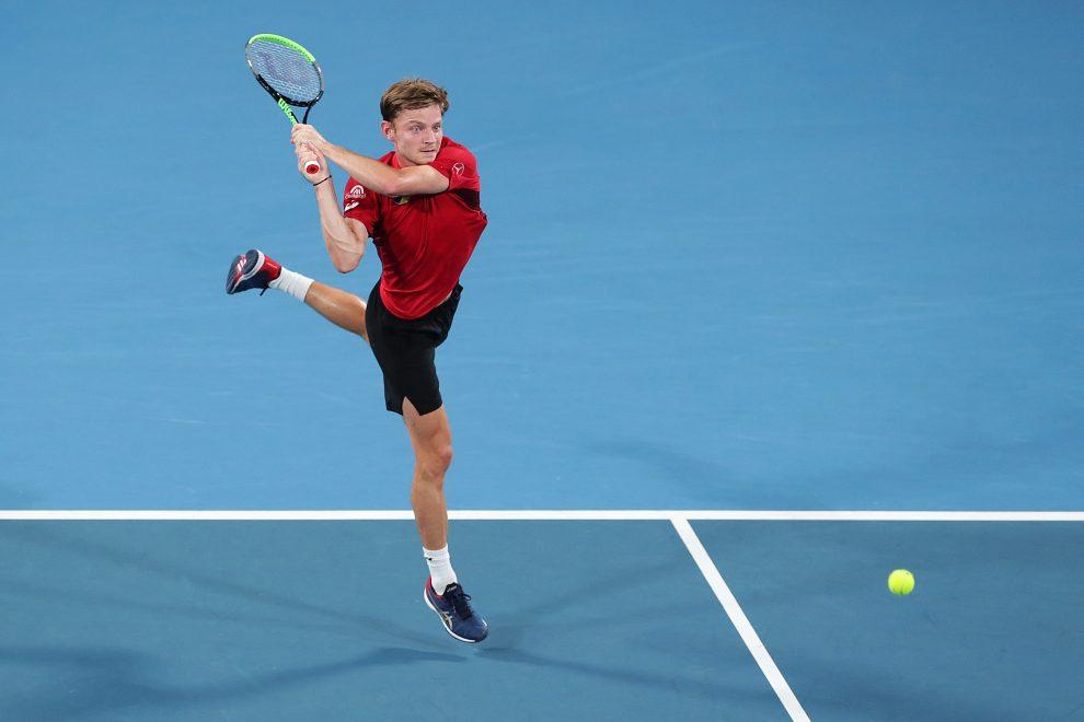 Goffin Nadal ATP Cup 2020 Sidney