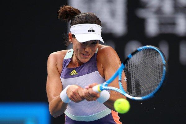 Garbiñe Muguruza Australian Open 2020