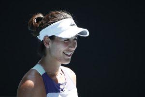 Muguruza Halep Australian Open 2020