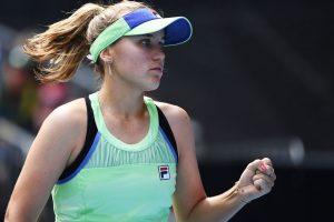 Kenin Jabeur Australian Open 2020