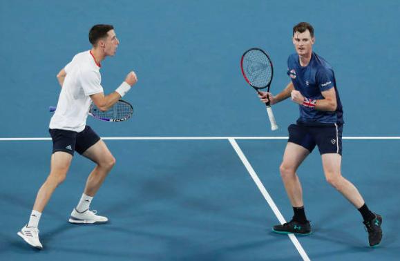 Murray Salisbury Gran Bretaña ATP Cup