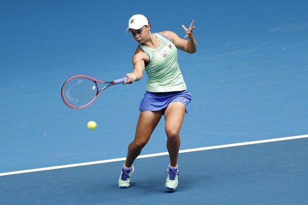 Barty Riske Australian Open 2020